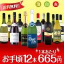 【送料無料】第60弾!1本あたり665円(税別)!スパークリ...
