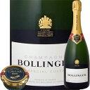 [クーポンで最大2,000円OFF]ボランジェ・スペシャル・キュベ&アメリカ産キャビア・アソートセット【箱なし】【正規品】【シャンパーニュ】【送料無料】【クール便お届け必須・送料プラス324円(税込)】【bollinger】【Caviar】