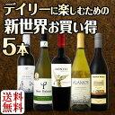 【送料無料】新世界満喫セット!とにかくコスパの高いワインを集めたスタッフ厳選5本セット!