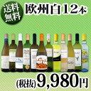 [クーポンで10%OFF]【送料無料】第66弾!超特大感謝!≪スタッフ厳選≫の激得白ワイン12本9,980円(税別)セット!