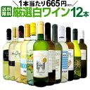クーポンで最大15 OFF 【送料無料】1本あたり665円(税別) 採算度外視の大感謝 厳選白ワイン12本セット