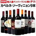 【送料無料】今や輸入量ナンバーワンに輝くチリ!人気のカベルネ・ソーヴィニョン9本セット!ワイン ワインセット セット 赤ワインセット 赤ワイン 赤 飲み比べ 送料無料 ギフト プレゼント 750ml