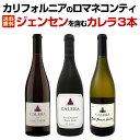 【送料無料】カリフォルニアのロマネコンティ、ジェンセンを含むカレラ3本セット!ワイン ワインセット セット 赤ワインセット 赤ワイン 赤 白ワインセット 白ワイン 白 飲み比べ 送料無料 ギフト プレゼント 750ml