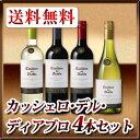 【送料無料】カッシェロ・デル・ディアブロ 人気4本セット!