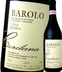 テッレ・デル・バローロ・バローロ・コルダナ・リゼルヴァ 2006【イタリア】【赤ワイン】【750ml】【フルボディ】【辛口】