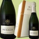 ショッピングクーラーボックス アンリオ・ブリュット・ブラン・ド・ブラン(クーラーボックスつき)【シャンパン】【750ml】【正規】【箱入り】【Henriot】