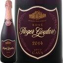 スパークリングワインロジャー・グラート・カヴァ・ロゼ【高級シャンパン[ドンペリ・ロゼ]に勝った超噂のスパーク!!】【スペイン】【ロゼスパークリングワイン】【750ml】【ミディアムボディ寄りのライトボディ】【辛口】