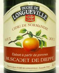 ロングヴィル シードル・ミュスカデ・ド・ディエップ フランス スパークリングワイン スパーク ぶどう酒