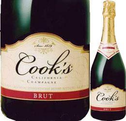 クックス・ブリュット・カリフォルニア アメリカ スパークリングワイン カリフォルニア スパーク