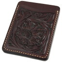Pass case pass holder men leather leather KC,s Kay chinquapin : Pass case #1 craft [Mocha]