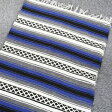 エルパソ サドルブランケット ELPASO SADDLEBLANKET ヘビーウェイト ファルサブランケット(ラグマット)【ブルー】