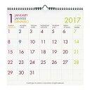 【etranger di costarica/エトランジェ・ディ・コスタリカ】LPカレンダー 壁掛け【フルカラー】<2017年1月から2017年12月対応> CLS-A-01 【あす楽対応】 02P03Dec16
