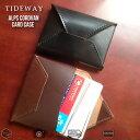 【即日発送】 送料無料 日本製 コードバン 本革 名刺入れ タイドウェイ アルプス カードケース ALPS CORDVAN CARD CASE メンズ レディース 本革 財布 牛革 レザー tideway ブランド