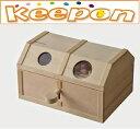 鍵付き宝箱加賀谷木材 中級木工工作キット貯金箱