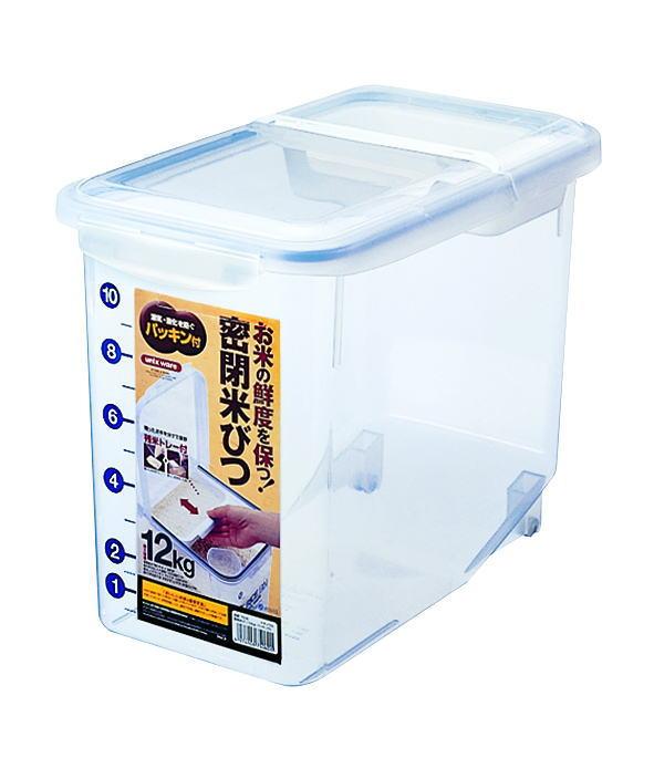 ストッカー・調味料容器アスベル(ASVEL)密閉米びつ12kg