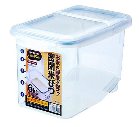 ストッカー・調味料容器アスベル(ASVEL)密閉米びつ6kg