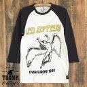 楽天kei-styleTRUNK LTD ( トランクショー ): Led Zeppelin レッド・ツェッペリン :メンズ 7分袖ラグランTシャツ