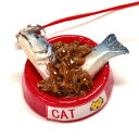 食品サンプル屋さんのストラップ 猫ごはん