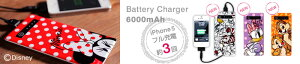 Disney battery charger 6000