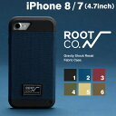 送料無料 iPhone7ケース 耐衝撃 ROOT CO. Gravity Shock Resist