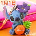 ディズニー 365日誕生日&記念日スティッチ根付携帯ストラップ [予約納期約1-2週間]【Disneyzone】