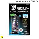 iPhone7 ガラスフィルム クリスタルアーマー ゴリラガラス ブルーライトカット 0.2mm 【 アイフォン7 強化ガラス フィルム 】