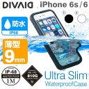 送料無料 iPhone6 iPhone6s 防水ケース DIVAID 防塵 ip68 ハードケース 【 スマホケース アイフォン6 ケース 薄型 完全防水 指紋認証 ipx8 耐衝撃 】