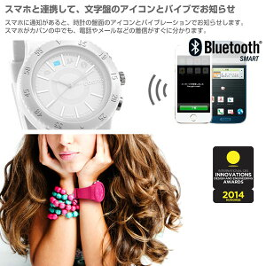 BluetoothSMART対応アナログ腕時計COGITOPOP【RCP】【楽ギフ_包装】