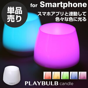 MipowLEDSMART���顼�饤�ȡ�PLAYBULBcandle��