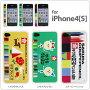[iPhone4S/4 전용]사쿠라 크레파스 iPhone4[S]케이스【쟈켓/커버】【크레용/크피】【스마트 폰/아이폰/아이포】(Apple/au/Softbank)