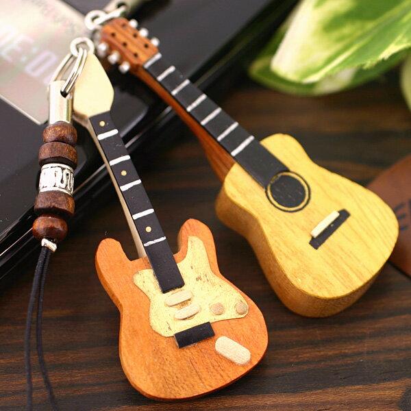 名入れ ミニチュアギターストラップ 【 オリジナル ミニチュア 携帯ストラップ 音楽 スト…...:keitai:10202350