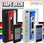 [케이스가 스탠드가 된다! ]iTapeDeck 카셋트 데이프형 iPhone4 실리콘 케이스【iPhone 소프트 타입】【iPhone 케이스】【아이디어】【맨즈】