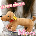 Elves circus ELPH'S CIRCUS おっきめ ☆ stuffed toy (Daniel /M size of the dachshund)