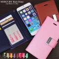 iPhone6s iPhone6 Plus アイフォン6 ケース 手帳型 Mercury レザーケース 【 スマホケース iphone 6...