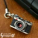 ミニチュアカメラ携帯ストラップ(スワロライトシャムレンジファインダー/クラシックシルバー)