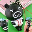 TBSキャラクターBooBoブーブ★プニプニ携帯ストラップ(野球)BBK-1-01