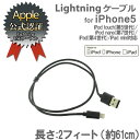 lightning usb ケーブル Lightningコネクター 2フィートUSB (約61cm/ブラック) 【充電器】【ライトニングコネクター Lightningケーブル lightning 変換アダプタ 純正】【iphone5c iphone5 iphone5s iPod touch iPad ipad mini】【MFi認証】(アップル)(あす楽対応)