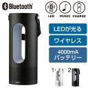 havit Bluetooth2.1対応 ポータブルLEDスピーカー【RCP】