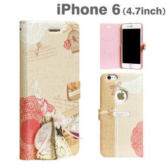 iPhone6 案例書鍵入 Happymori Mori 女生日記日記