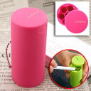 [mobile ashtray] let's carry the manner! Pocket ashtray ミスルト (pink )MLT-45097 【 10P06may13 】) with ball chain