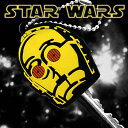スターウォーズ STAR WARS キーカバー・ボールチェーン ( C-3PO )SWKEY-06 STARWARS