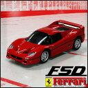 【送料350円!】【激安セール会場】【在庫アリ!】【21%OFF☆WDセール!】【FerrariRealDriveNano】手のひらサイズ♪なのに、疾風の如く走る!光る★極上フェラーリ1/58スケール(フェラーリF50:F50)