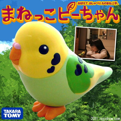 "[reservation: Around one week] copycat P (person easily elated by praise or flattery のもりっ ピ) [""mimicry"" New Age Robo parakeet born from the companion toy ☆ clock man who talked like a good parakeet] [point 倍付 0409] [02p12Apr11]"