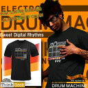 "[free shipping] 63 kinds of great electronic drum sound in total! Besides, I put it on recording & loop and record it! !The ★ Thinkgeek Electronic Drum Machine T-Shirt ""drum machine T-shirt"" which has been already beyond the level of the T-shirt as for this [point sale]"
