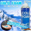 [stock ant ][ this place selling things loose ♪] cold form COLD FOAM cooling spray 220 ml [get completely exhausted in surprising summer, and take measures] [heat stroke] [point deep-discount sale] [popular among birthday present & gifts]