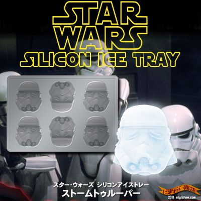 ��ͽ��2012ǯ1�����ͽ���STARWARS���ꥳ�����ȥ졼���ȡ���ȥ롼�ѡ��ڥ�������������-siliconeicecubetrayStormtrooper-��