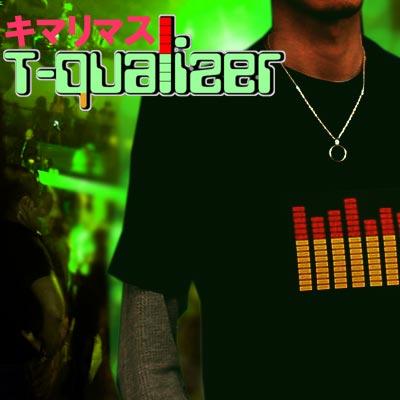 【独占輸入☆予約開始!FLASHWEART-Qualizer】UKから日本初上陸!音で超光る☆Tシャツイコライザー