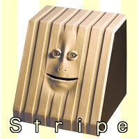 フェイスバンク凸凹WORKS(ストライプ) -face bank stripey-