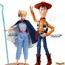 【お得なセット】ディズニー リアルサイズトーキングフィギュア ウッディ (リミックス版)/ ボー・ピープ セット ( トイストーリー / Disney Pixer Toy Story )