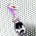 (なめんなよ)なめネコ携帯クリーナー携帯ストラップ バイカー